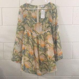 Tropical themed TOBI Dress 🌴